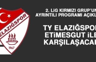 2. Lig Kırmızı Grup'un Ayrıntılı Programı...