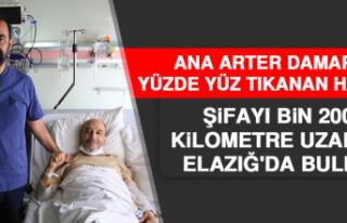Ana Arter Damarı Yüzde Yüz Tıkanan Hasta, Şifayı...