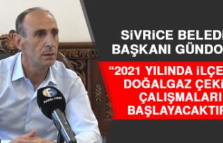 """Başkan Gündoğan """"2021 Yılında İlçemize Doğalgaz..."""