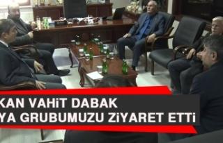 Başkan Vahit Dabak, Medya Grubumuzu Ziyaret Etti