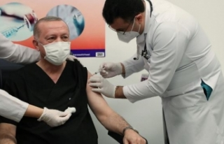 Cumhurbaşkanı Erdoğan 2. doz aşıyı yaptırdı