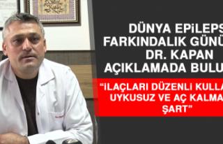 Dr. Kapan: İlaçları Düzenli Kullanmak, Uykusuz...