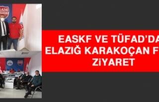 EASKF ve TÜFAD'dan Elazığ Karakoçan FK'ya...