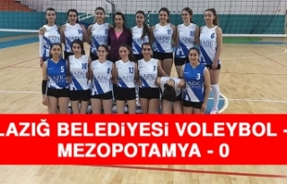 Elazığ Belediyesi Voleybol 3 – 0 Mezopotamya