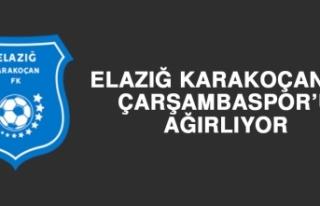 Elazığ Karakoçan FK, Çarşambaspor'u Ağırlıyor