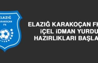 Elazığ Karakoçan FK'da İçel İY Hazırlıkları...