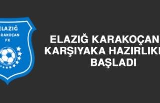 Elazığ Karakoçan'da Karşıyaka Hazırlıkları...