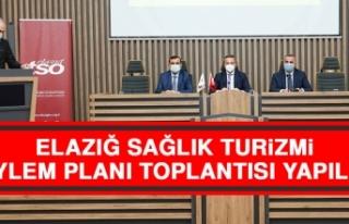 Elazığ Sağlık Turizmi Eylem Planı Toplantısı...