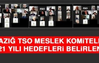 Elazığ TSO Meslek Komiteleri 2021 Yılı Hedefleri...