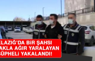 Elazığ'da Bir Şahsı Bıçakla Ağır Yaralayan...