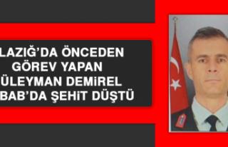 Elazığ'da Önceden Görev Yapan Süleyman Demirel...