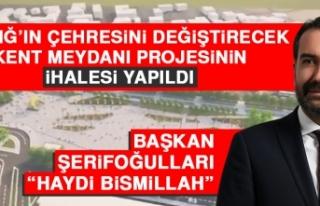 Elazığ'ın Çehresini Değiştirecek Kent Meydanı...