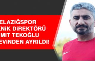 Elazığspor Teknik Direktörü Ümit Tekoğlu İstifa...