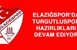 Elazığspor'da Turgutluspor Hazırlıkları Devam...