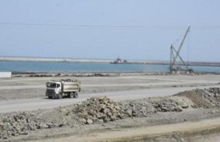 Filyos Limanı doğalgaz çıkarma işlemleri için...