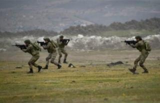Fırat Kalkanı bölgesinde PKK/YPG'li 3 terörist...