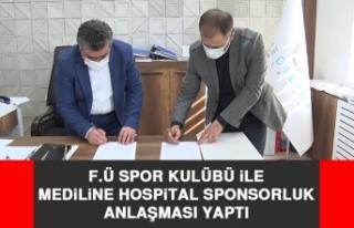 F.Ü Spor Kulübü İle Mediline Hospital Sponsorluk...