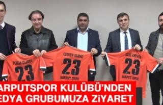 Harputspor Kulübü'nden Medya Grubumuza Ziyaret