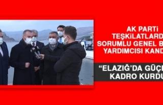 Kandemir: Elazığ'da Yapılanlar Herkesin Gözünün...