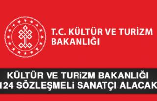 Kültür ve Turizm Bakanlığı 124 Sözleşmeli Sanatçı...