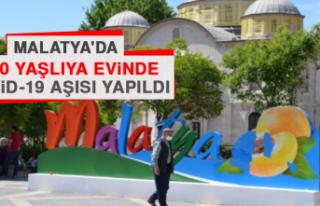 Malatya'da 1000 Yaşlıya Evinde Kovid-19 Aşısı...