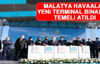 Malatya Havaalanı Yeni Terminal Binasının Temeli...