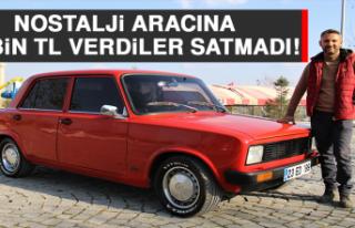 Nostalji Aracına 100 Bin TL Verdiler, Satmadı!