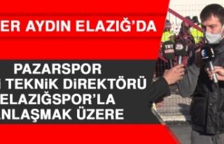 Pazarspor Eski Teknik Direktörü Elazığspor'la...