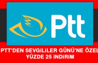 PTT'den Sevgililer Günü'ne Özel Yüzde...