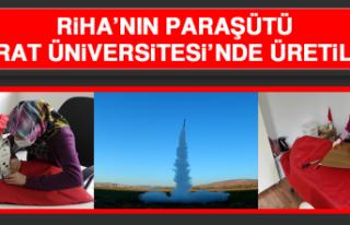 RİHA'nın Paraşütü Fırat Üniversitesi'nde...