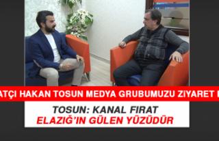 Sanatçı Hakan Tosun'dan Medya Grubumuza Ziyaret
