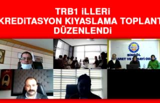 TRB1 İlleri Akreditasyon Kıyaslama Toplantısı...