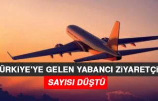 Türkiye'ye Gelen Yabancı Ziyaretçi Sayısı...