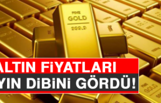 Altın Fiyatları 9 Ayın Dibini Gördü