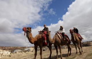 Balonlardan Sonra Turistler Şimdi De Kapadokya'yı...