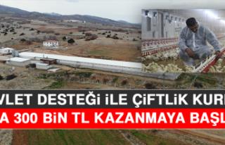 Devlet Desteği İle Çiftlik Kurdu, Yılda 300 Bin...