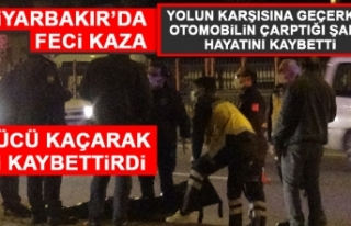 Diyarbakır'da Feci Kaza!