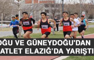 Doğu ve Güneydoğu'dan 265 Atlet Elazığ'da...