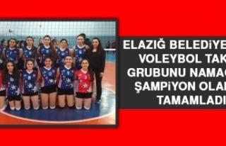 Elazığ Belediyespor Voleybol Takımı Grubunu Namağlup...