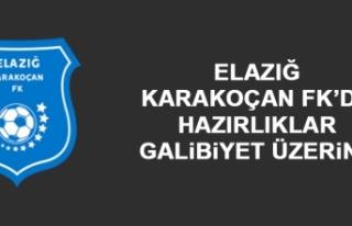 Elazığ Karakoçan FK'da Hazırlıklar; Galibiyet...