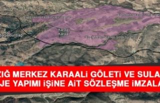 Elazığ Merkez Karaali Göleti ve Sulaması Proje...
