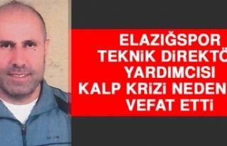 Elazığspor Teknik Direktör Yardımcısı Kalp Krizi...