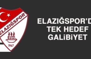 Elazığspor'da Tek Hedef, Galibiyet