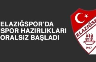 Elazığspor'da Vanspor Hazırlıkları Moralsiz...