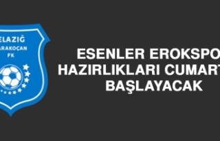 Esenler Erokspor Hazırlıkları Cumartesi Başlayacak