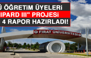 """FÜ Öğretim Üyeleri, """"Ipard III"""" Projesi..."""