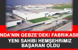 Honda'nın Gebze'deki Fabrikasının Yeni Sahibi...