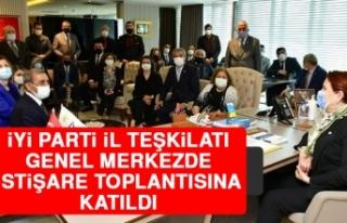 İYİ Parti İl Teşkilatı Genel Merkezde İstişare...