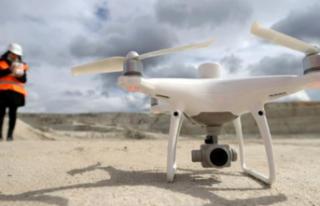 Maden sahalarında dronlu denetim dönemi başladı