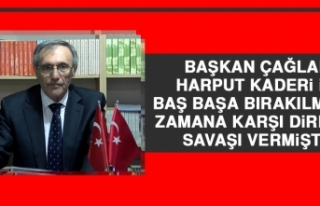 Mehmet Çağlar: Harput Kaderi İle Baş Başa Bırakılmış...